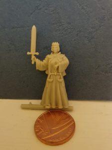 Justice Tarot Figure